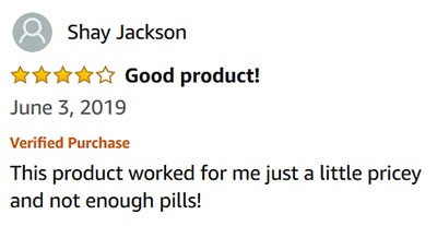 Diurex Customer Reviews