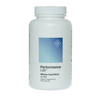 Performance Lab Whole Food Mens Multi