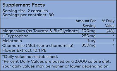 Powher Sleep Ingredients
