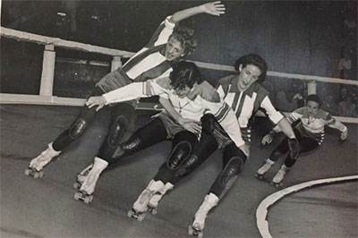 Roller Derby Movie 1970s